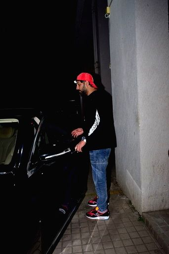 Former cricketer Yuvraj Singh at sports agent Bunty Sajdeh's party in Mumbai on March 13, 2020. - Yuvraj Singh