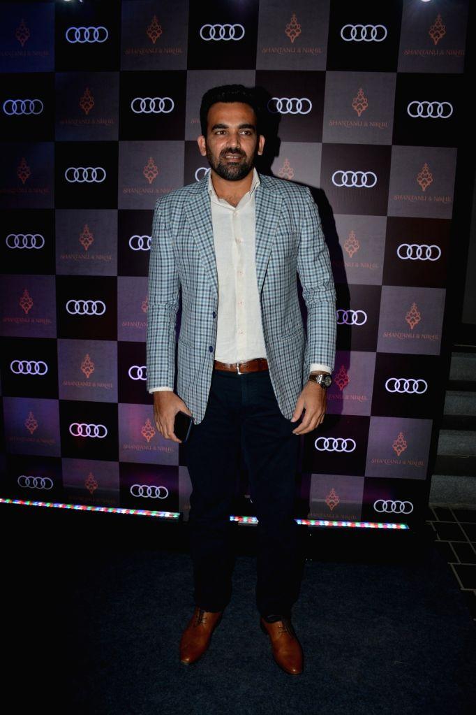 Former cricketer Zaheer Khan at Shantanu and Nikhil's store launch, in Mumbai on Dec 6, 2018. - Zaheer Khan