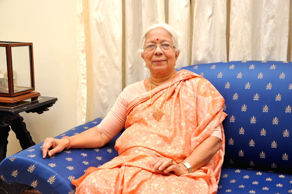 Former Goa, Daman and Diu Chief Minister Shashikala Kakodkar who passed away at the age of 81 in Panaji on Oct 28, 2016. - Shashikala Kakodkar