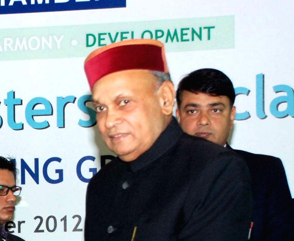 Former Himachal Pradesh Chief Minister and BJP leader Prem Kumar Dhumal. (File Photo: IANS) - Prem Kumar Dhumal