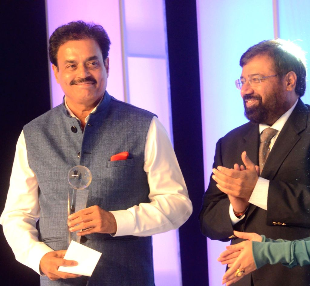 Former India cricketer Dilip Vengsarkar during the CEAT award function in Mumbai on May 30, 2016.