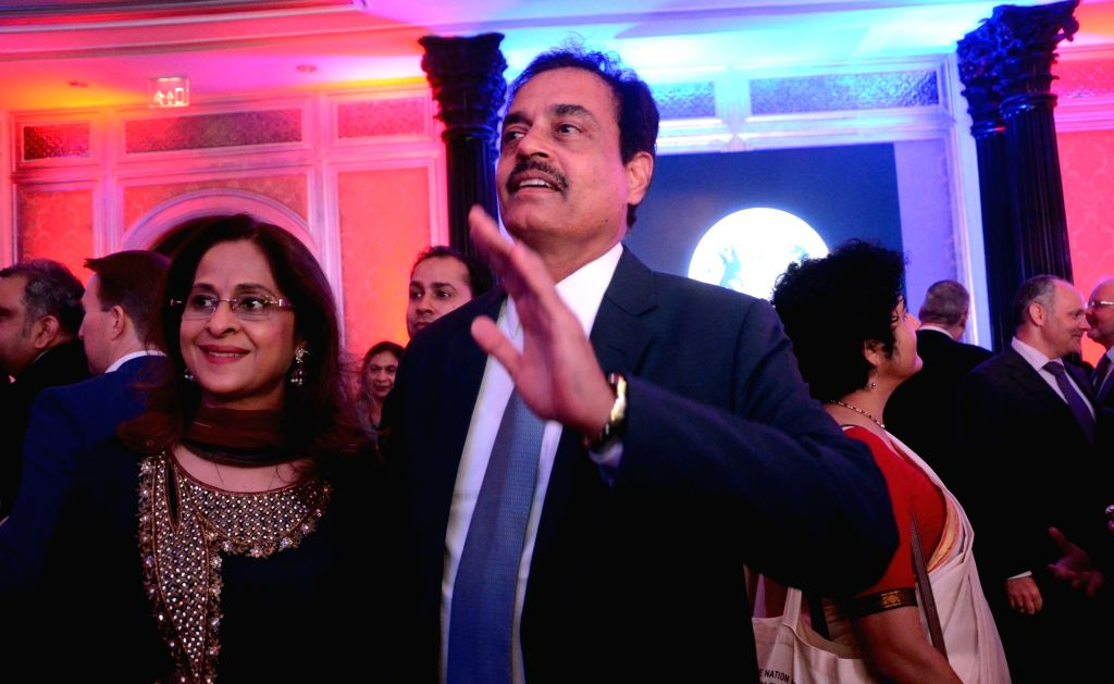 Former India cricketer Dilip Vengsarkar during a reception hosted by the British Deputy High Commissioner Shekhar Iyer to celebrate the 90th birthday of Queen Elizabeth II in Mumbai on May ...