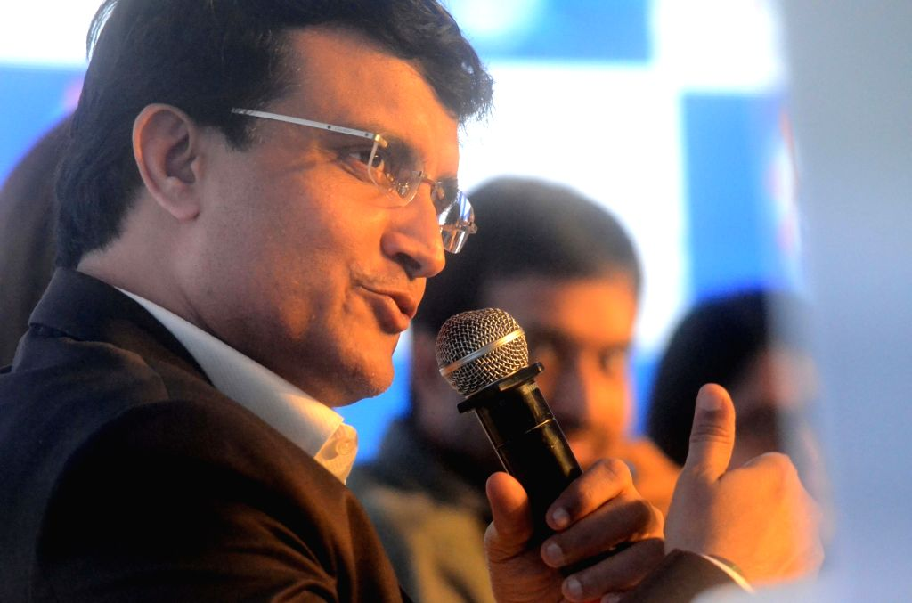 Former India cricketer Sourav Ganguly during HaarKoHarao Campaign in Mumbai on Nov 30, 2017. - Sourav Ganguly