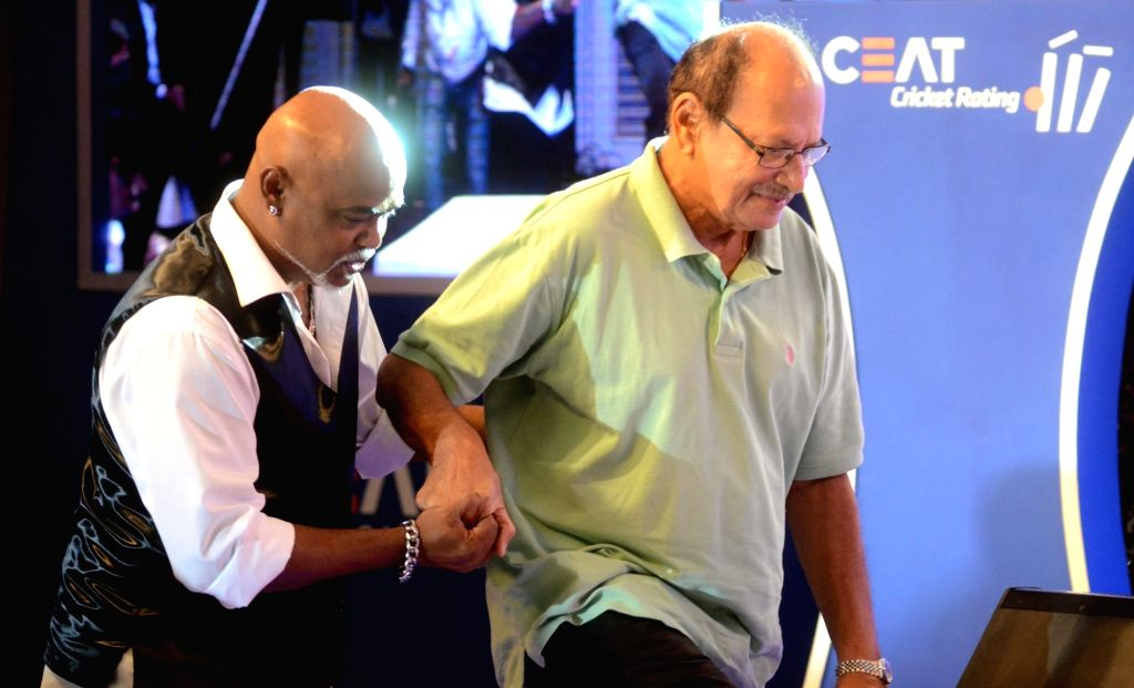Former India cricketer Vinod Kambli during the CEAT award function in Mumbai on May 30, 2016.
