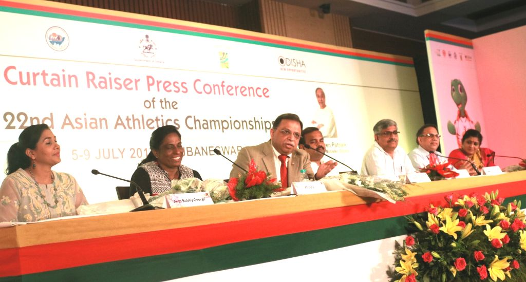 Former India long-jumper Anju Bobby George, former India sprint queen PT Usha, former India athlete Shiny Abraham Wilson Athletics Federation of India (AFI) chief Adille Sumariwalla and ... - Chandra Sarathi Behera