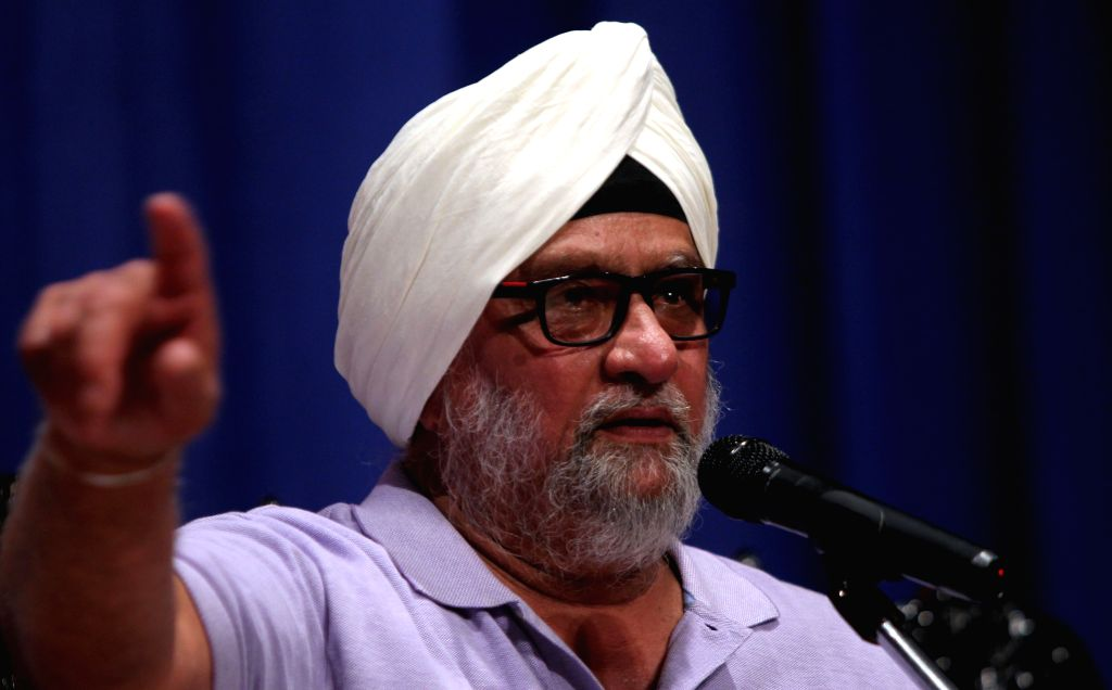 :Former India`s Test cricket captain Bishan Singh Bedi addressing on the topic  Is cricket facing a credibility crisis  as part of the Nani Palkhivala Memorial Lecture at the Rani Seethai Hall in ...