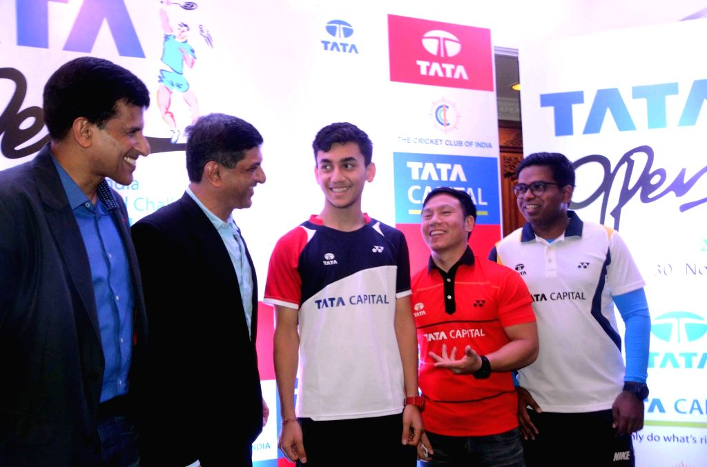 Former Indian badminton player Prakash Padukone during the announcement of 9th Tata Open International Badminton Challenge in Mumbai on Nov 29, 2016. - Prakash Padukone