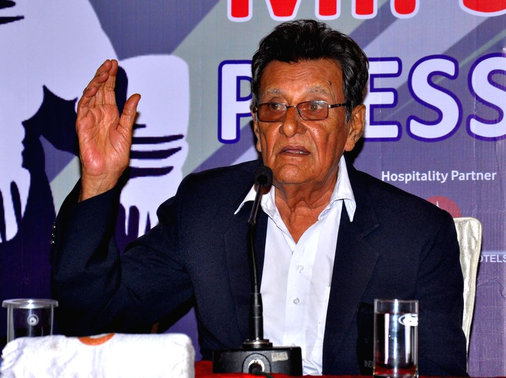 Former Indian Cricketer Salim Durani during a press conferance for Pinkcity Premier League in Jaipur on June 17, 2014.