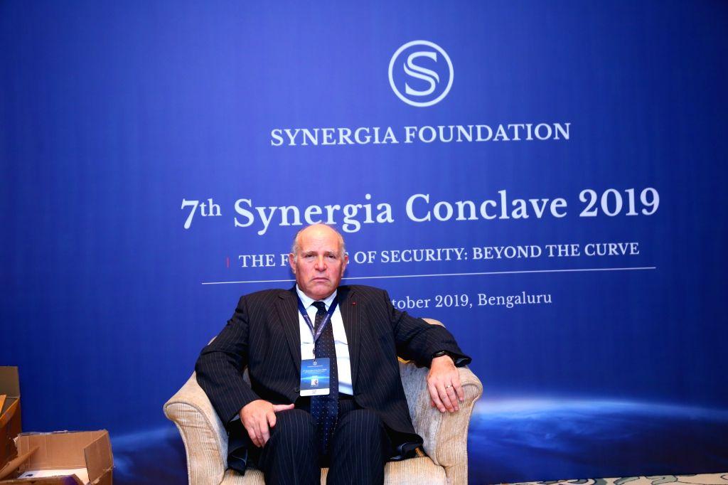 Former Israeli national security adviser Uzi Arad in Bengaluru.