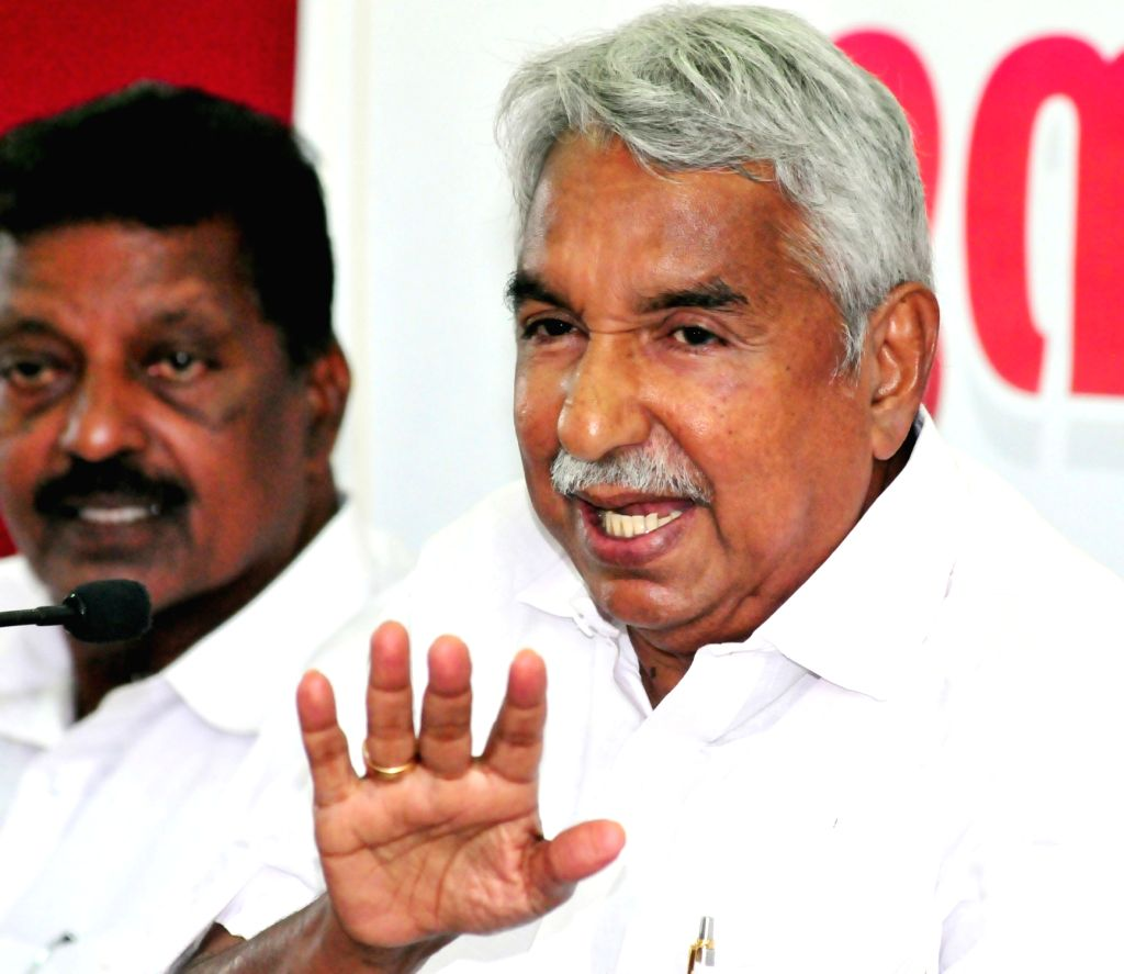 Former Kerala Chief Minister and Congress leader Oommen Chandy. (File Photo: IANS)