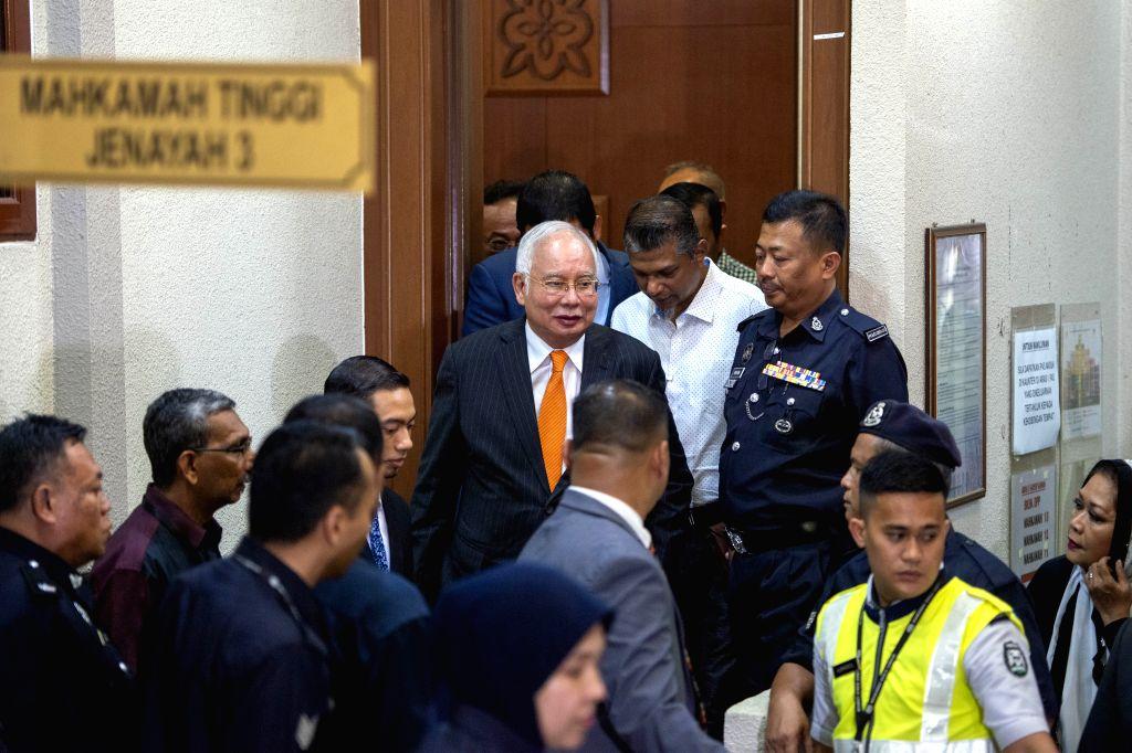 Former Malaysian Prime Minister Najib Razak - Najib Razak