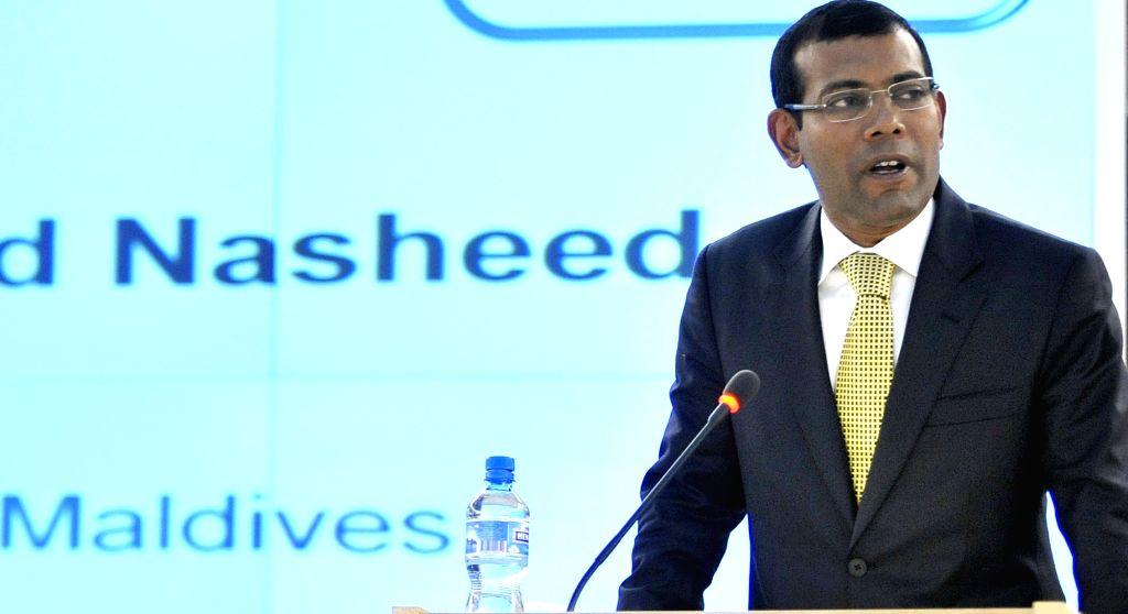 Former Maldives President Mohamed Nasheed (Photo: UN/IANS)