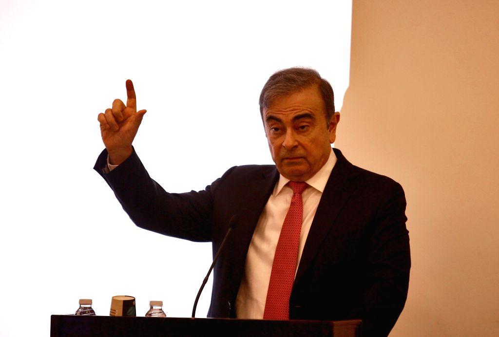 Former Nissan chief Carlos Ghosn