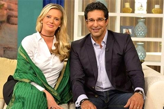 Former Pakistan cricket captain Wasim Akram and his wife Shaniera. One of the best left-arm fast bowlers of all times, Wasim Akram is now going to try his hands at acting. He has reportedly signed a comedy film in which his wife Shaniera will also tr - Wasim Akram
