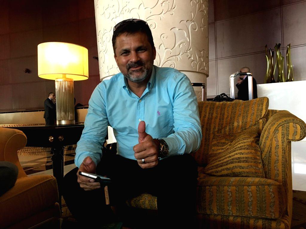 Former Pakistan cricketer Moin Khan. - Moin Khan