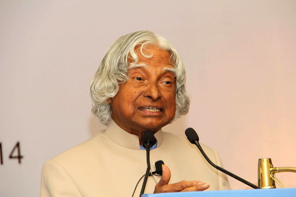 Former President of India A.P.J. Abdul Kalam during 2nd National NCD Summit organised by CII in New Delhi on July 18, 2014.