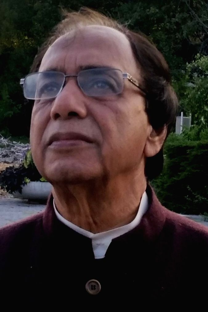former Rajya Sabha member Bidhu Bhusan Dutta.(photo:Dr. Anirban Ganguly Twitter)