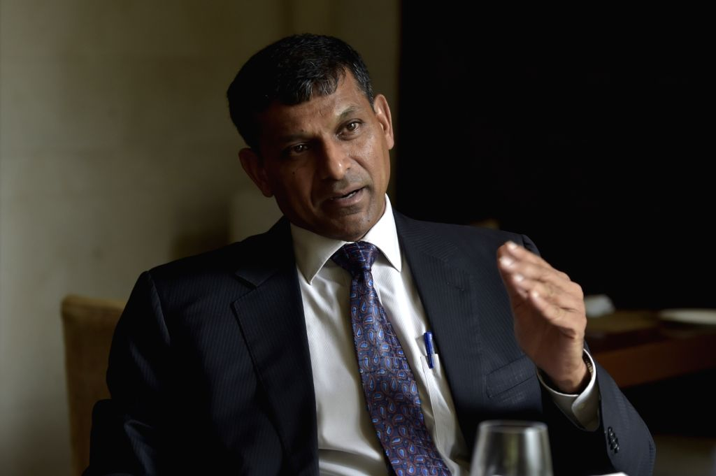 "Former RBI Governor Raghuram Rajan during the release of his book ""I do what I do"" in Chennai on Sept 5, 2017."
