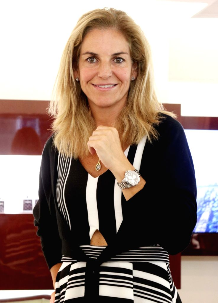 Arantxa Sanchez Vicario unveils Longines Ronald Garros