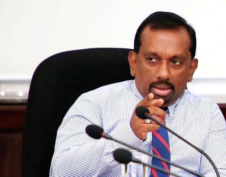 Former Sri Lanka sports minister Mahindananda Aluthgamage. - Mahindananda Aluthgamage