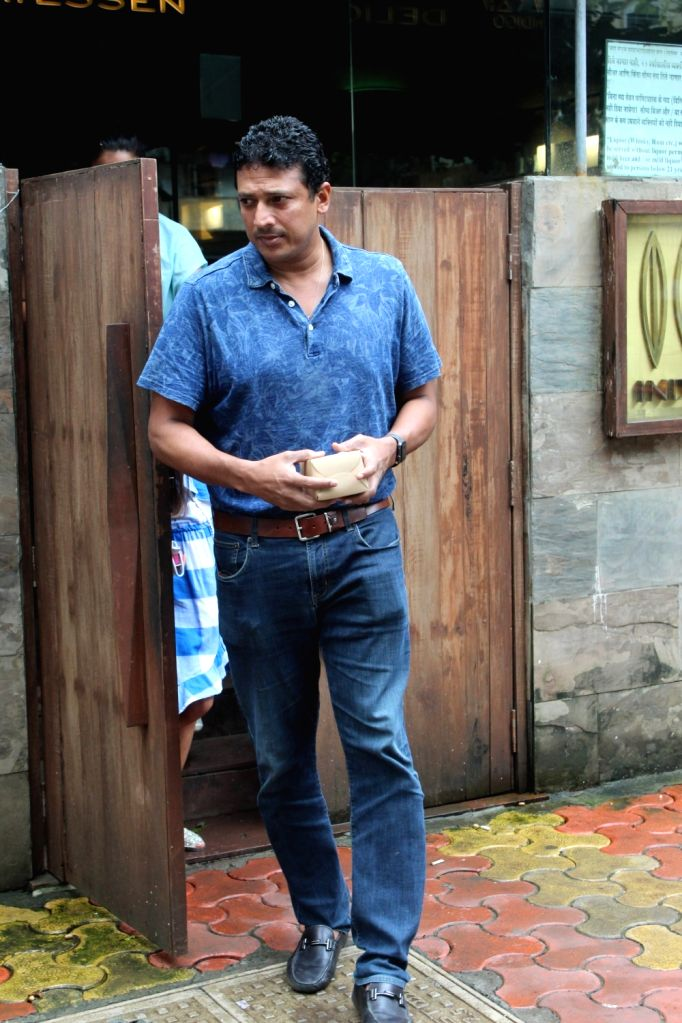 Former Tennis player Mahesh Bhupathi seen at a restaurant at Bandra in Mumbai on Aug 10, 2019. - Mahesh Bhupathi