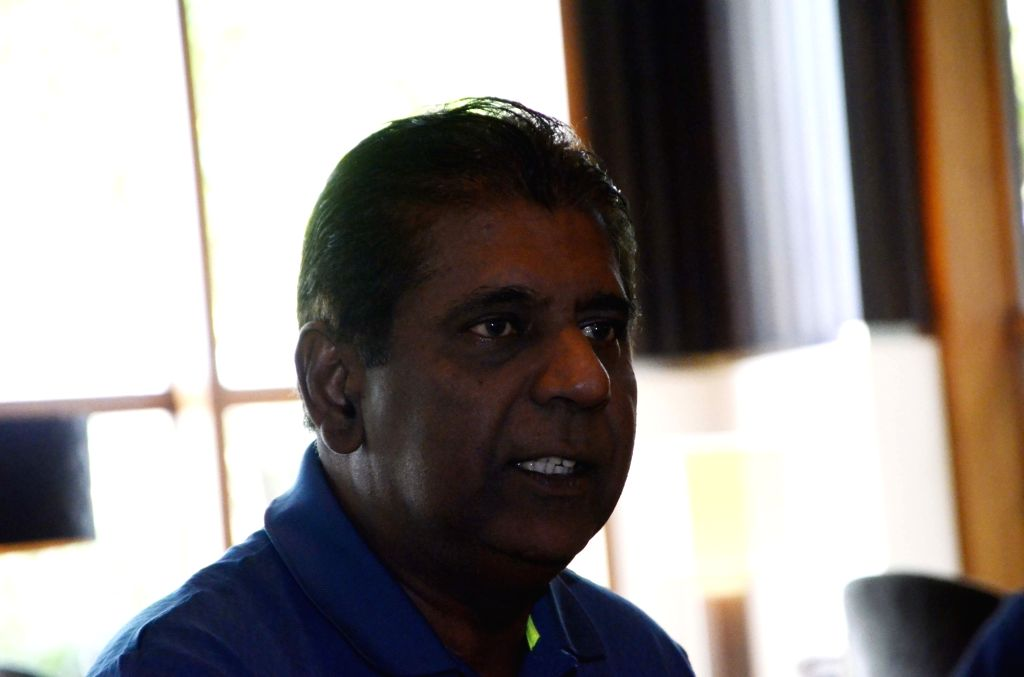 Former tennis player Vijay Amritraj during an interview with IANS in Mumbai.