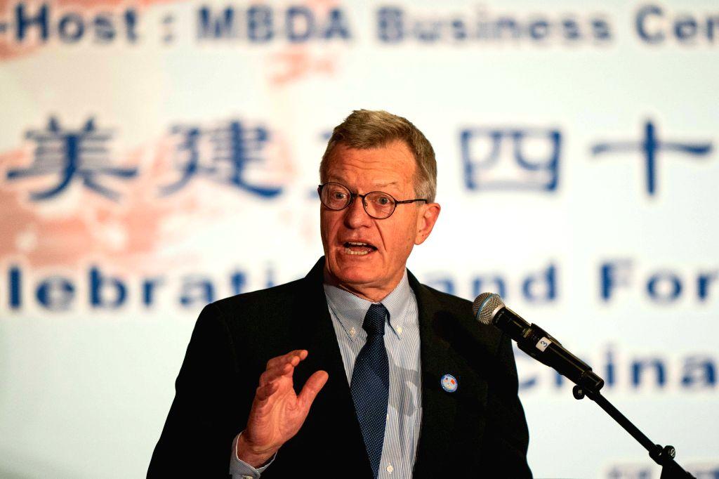 Former U.S. Ambassador to China Max Baucus. (Xinhua/Qian Weizhong)
