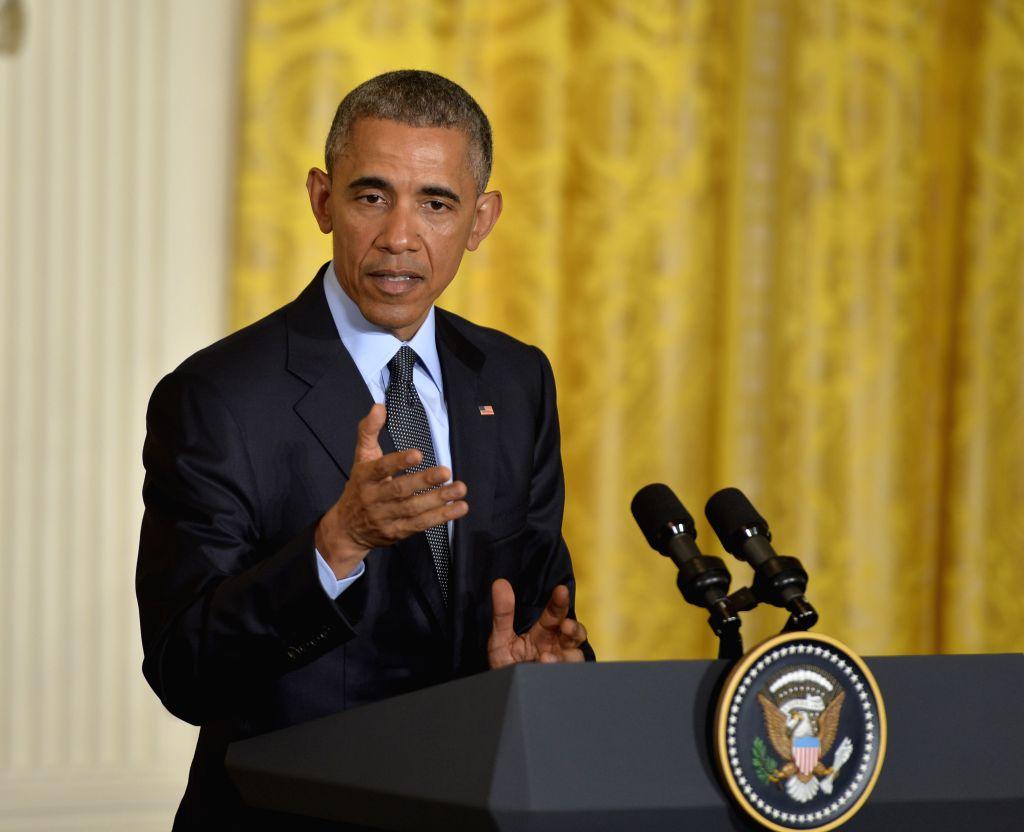 Former US President Barack Obama. (File Photo: Xinhua/Bao Dandan/IANS)
