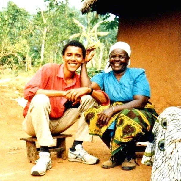 Former US President Barack Obama's Kenyan step grandmother Sarah Obama passes away.(photo:Instagram)