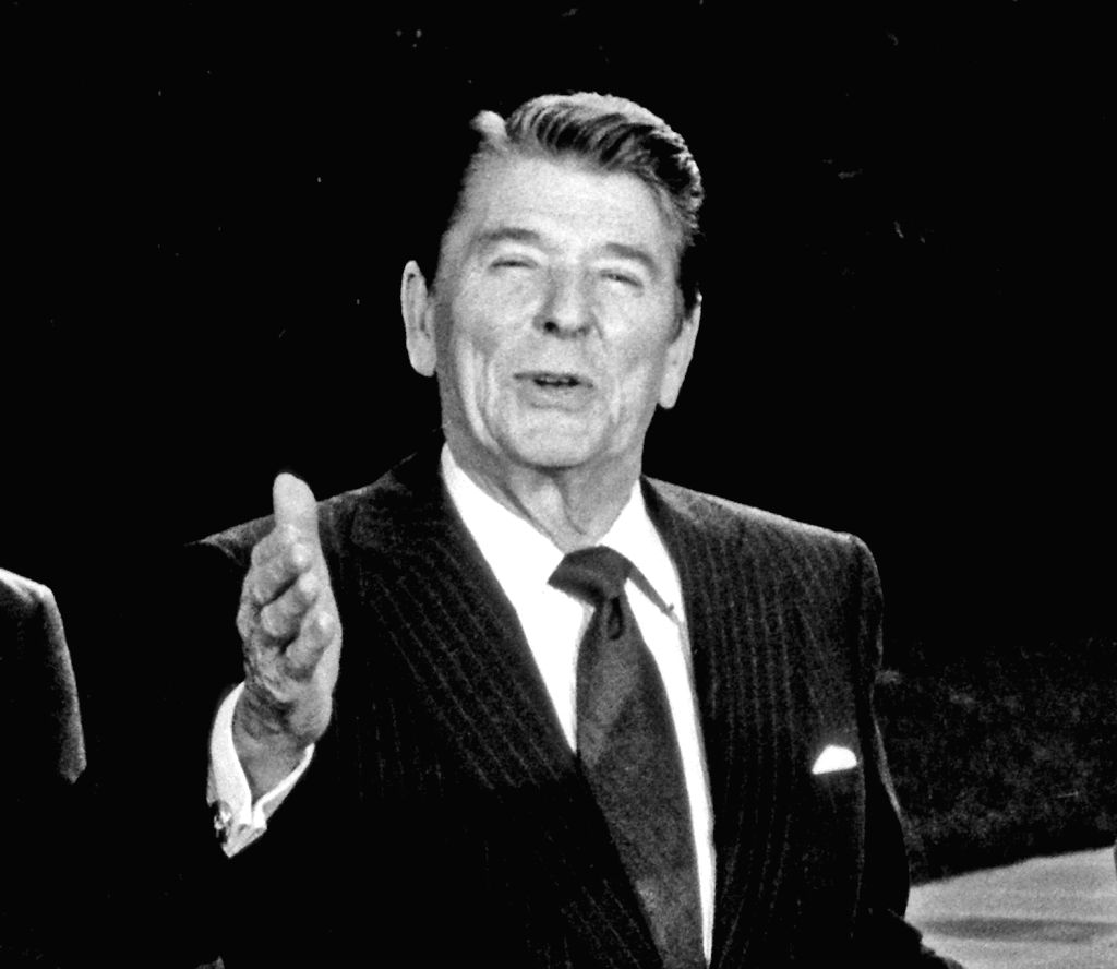 Former US President Ronald Reagan. (File Photo: IANS)