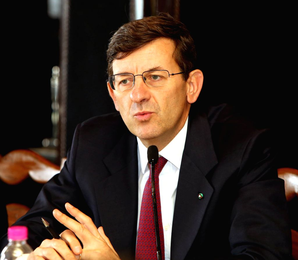 Former Vodafone Group Chief Executive Officer Vittorio Colao. (File Photo: IANS)