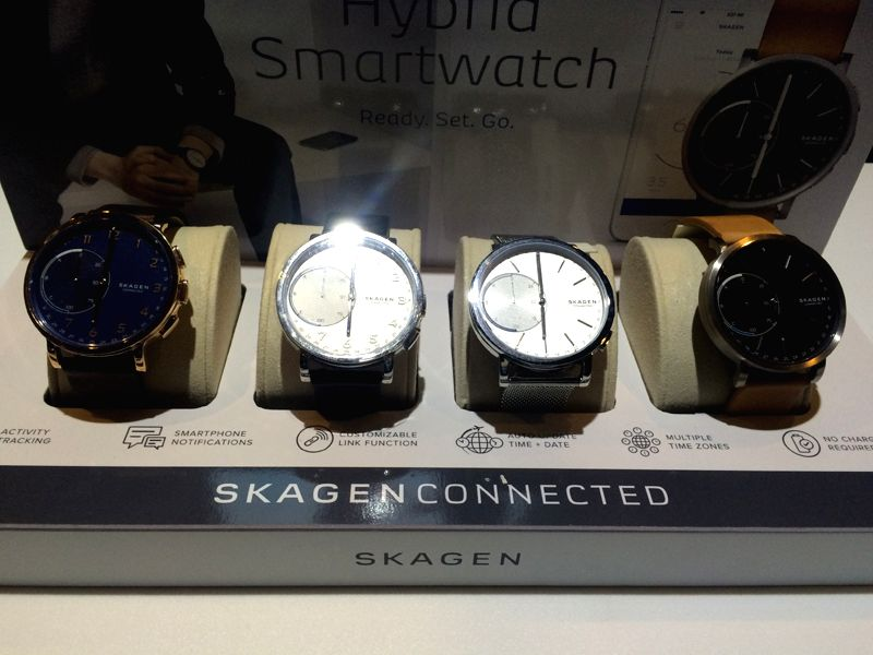 Fossil Group\'s Skagen debuts with Skagen Connected, a wearable technology line.