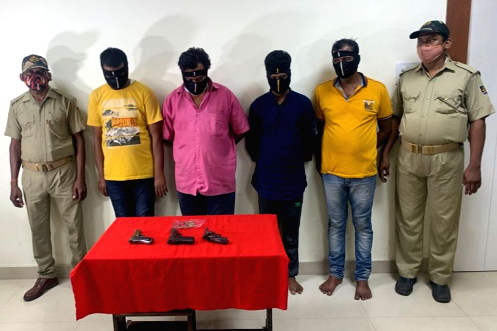 Four including Odia album director arrested for illegal arm deal in Odisha.
