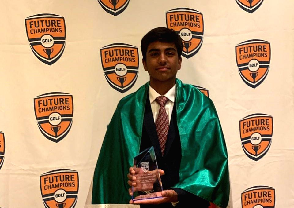 Fourteen-year-old Arjun Bhati represented India at the FCG CALLAWAY Junior World Golf Championship and bagged the first position against Taiwans Jeremy Chen during the three-day final match in Palm Desert, CA.