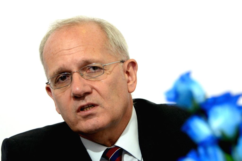 France's National Centre for Space Studies (CNES) President Jean-Yves Le Gall. (Photo: IANS)