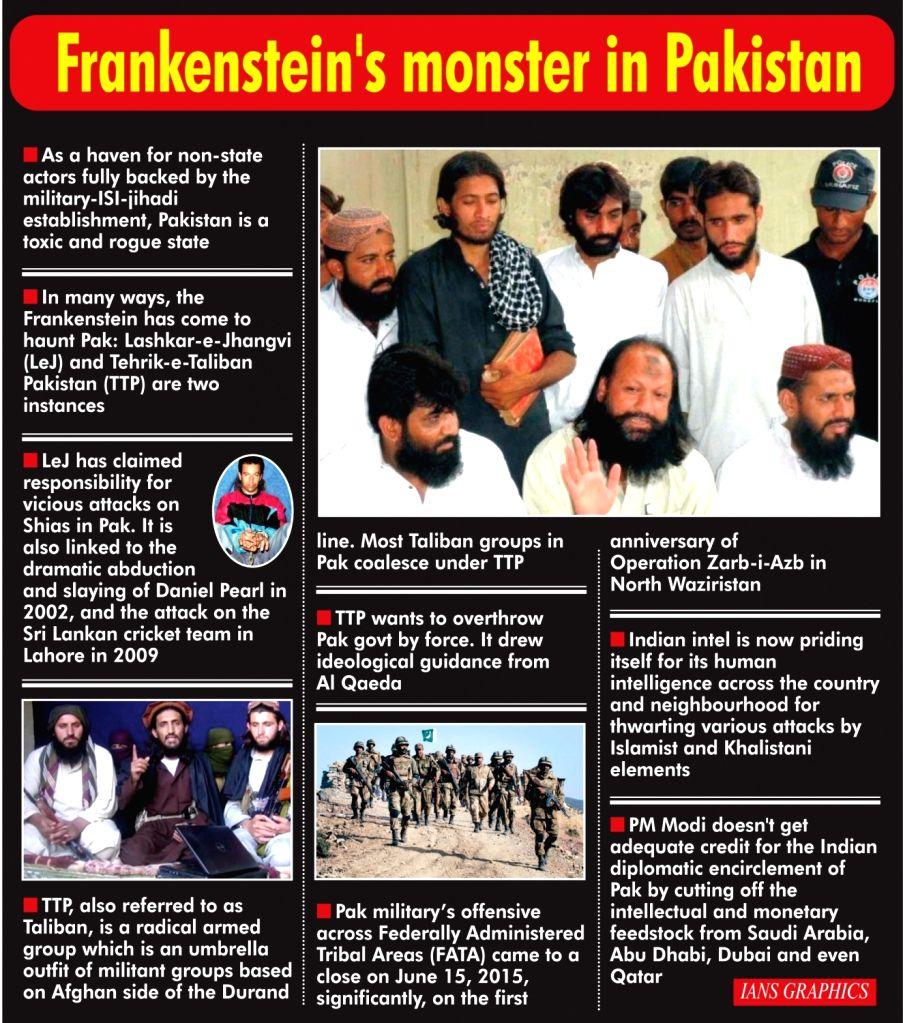 Frankenstein's monster in Pakistan.