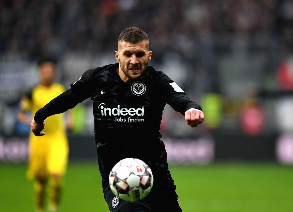 FRANKFURT, Feb. 3, 2019 - Ante Rebic of Frankfurt competes during the Bundesliga match between Eintracht Frankfurt and Borussia Dortmund in Frankfurt, Germany, Feb. 2, 2019.