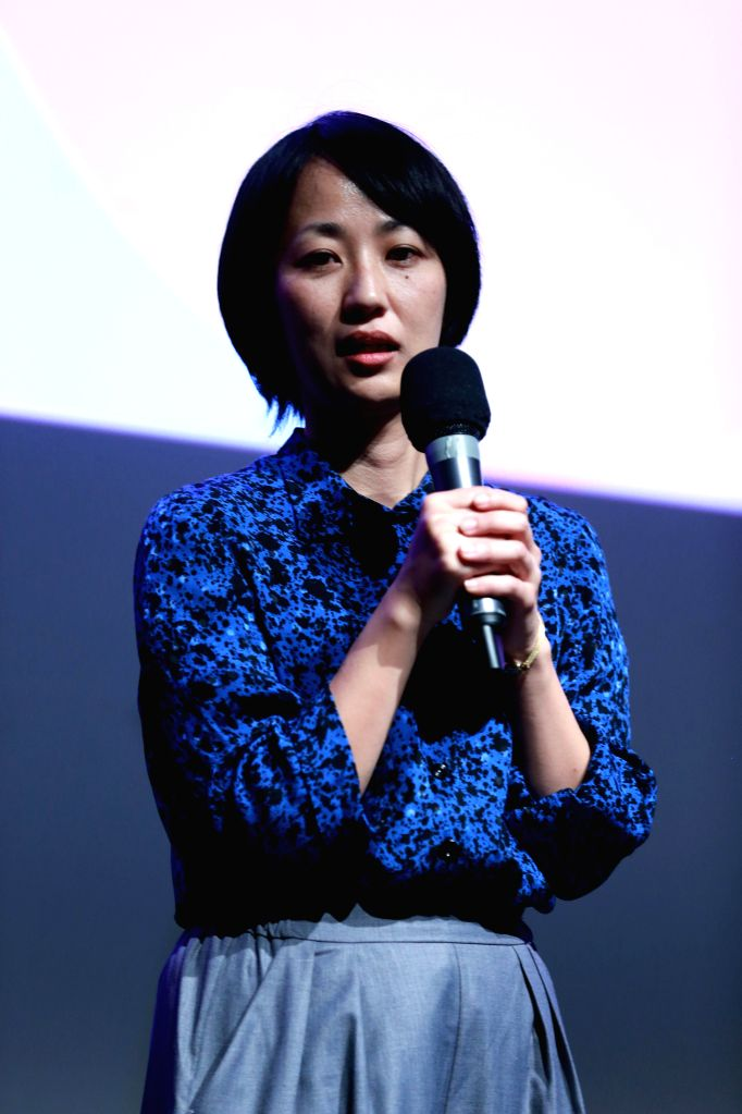 FRANKFURT, May 27, 2016 - Japanese director Satoko Yokohama attends the 16th Japanese Film Festival Nippon Connection in Frankfurt, Germany, on May 26, 2016. The 16th Japanese Film Festival Nippon ... - Satoko Yokohama