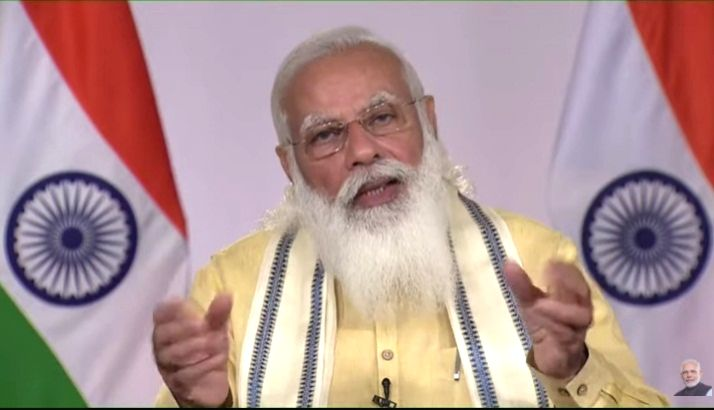 Free Covid vax to 18 plus age group from June 21: Modi.
