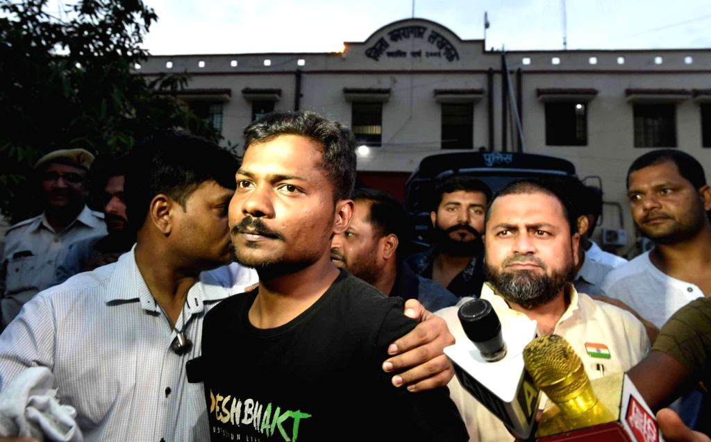 Freelance journalist Prashant Kanojia who has been released from Lucknow Jail after Supreme Court on Tuesday ordered his immediate release on bail; on June 12, 2019. He was arrested by the ... - Yogi Adityanath