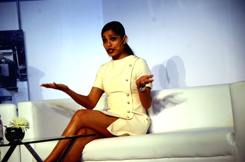 Freida Pinto: Animated world different from film, TV