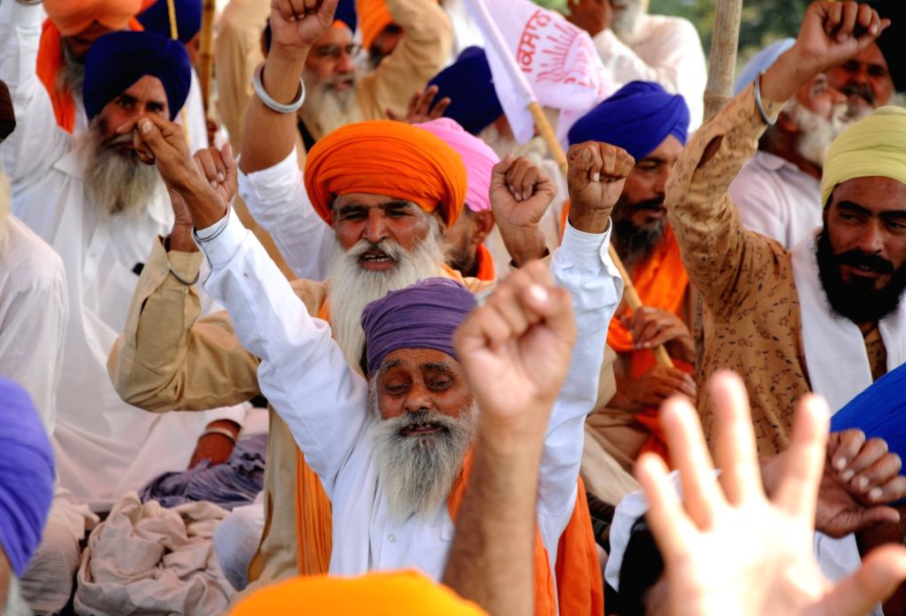 Freight train services stopped due to farmers' agitation in Punjab