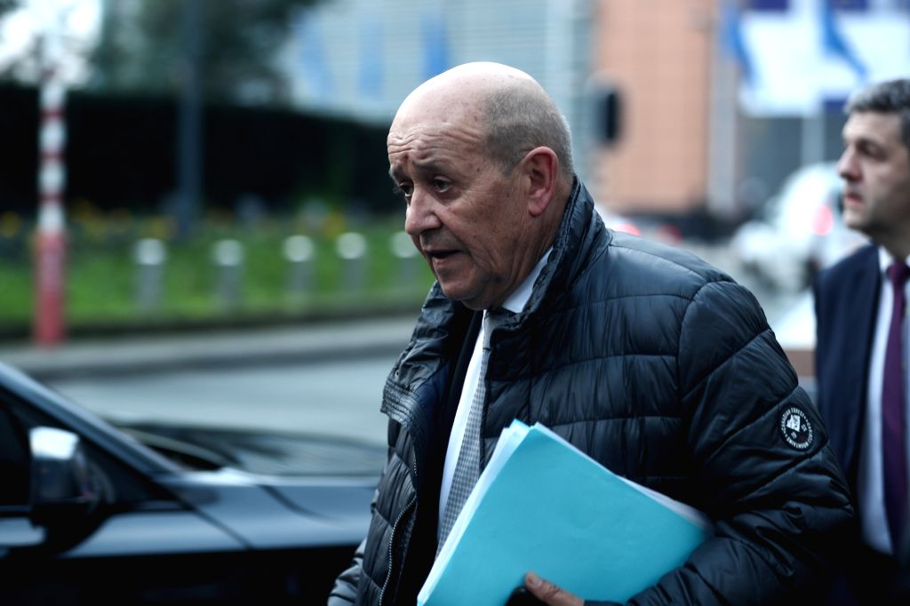 French Foreign Minister Jean-Yves Le Drian - Jean-Yves L