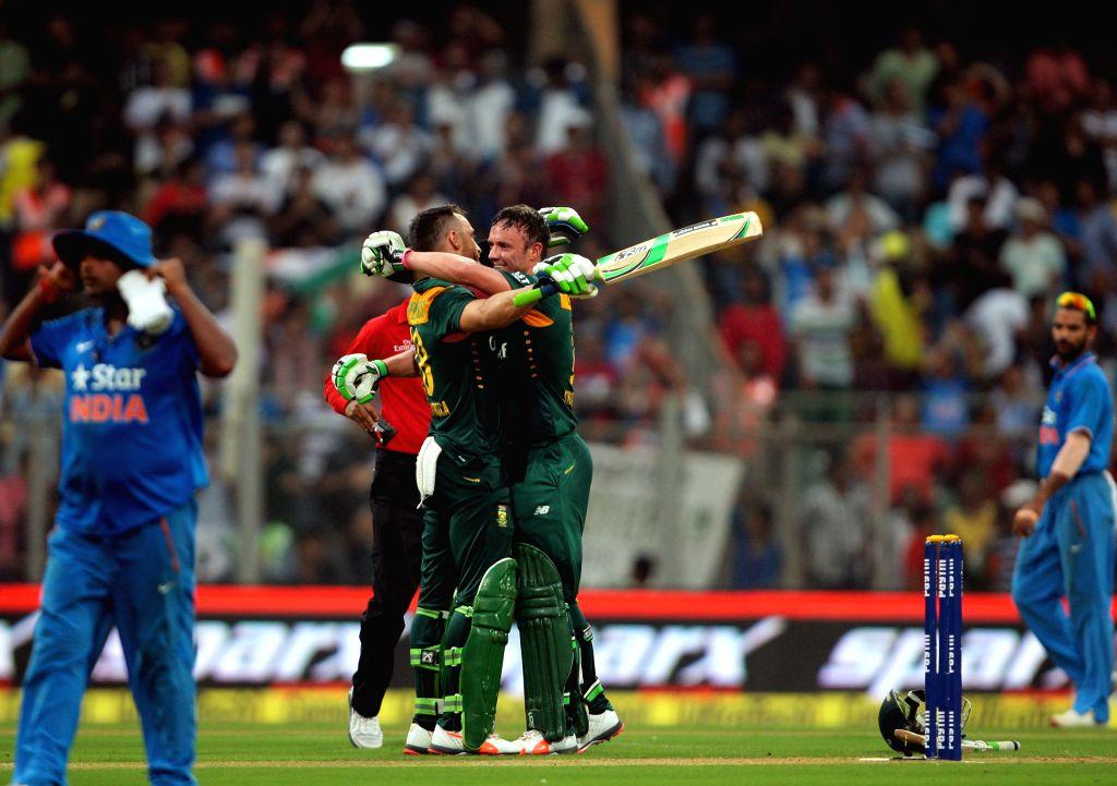 Friend in me trumped the captain: Du Plessis on De Villiers's retirement . (Photo: IANS)