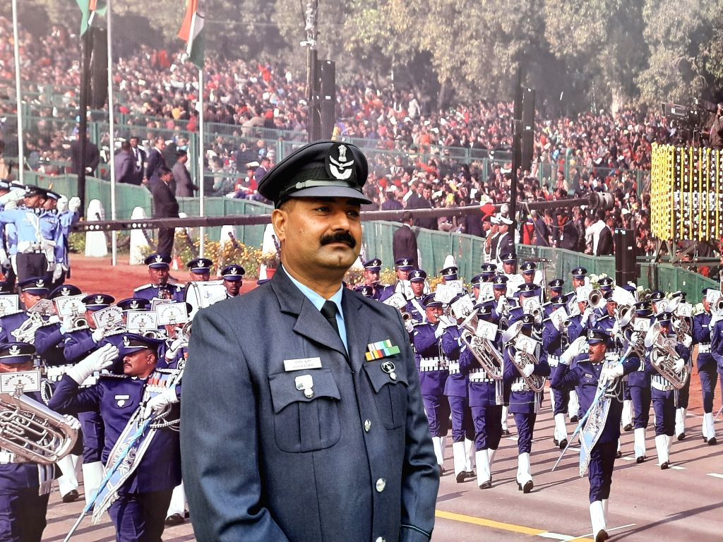 From original compositions of martial tunes to western beats, Indian Air Force Warrant Officer Ashok Kumar has been leading the force band contingent for the last 13 years. He has been part of the Republic Day parade for the last 25 years, first as p