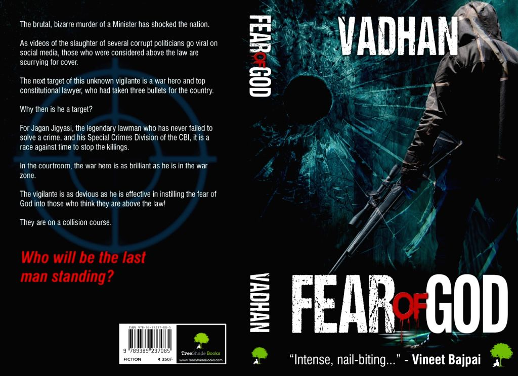 Frustration with apathy for law prompted ???Fear of God???:Author Vardhan.