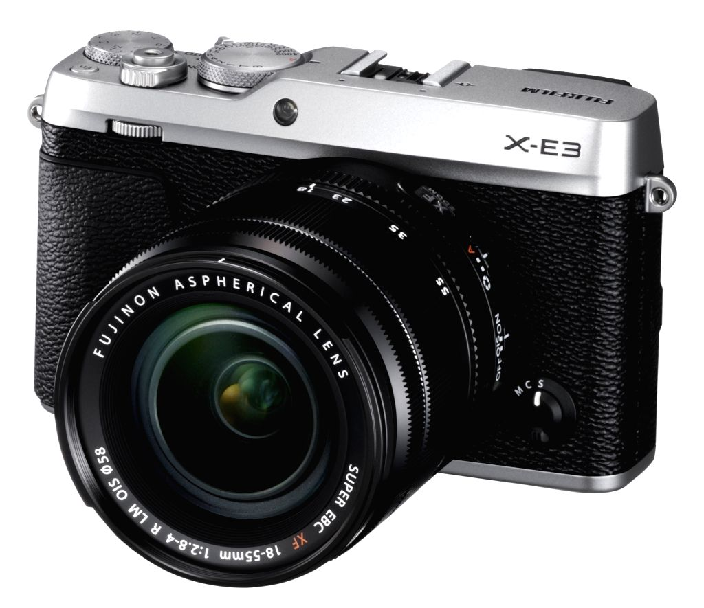 Fujifilm X-E3 the latest addition to the X Series range of premium mirrorless digital cameras in New Delhi on Oct. 11, 2017.
