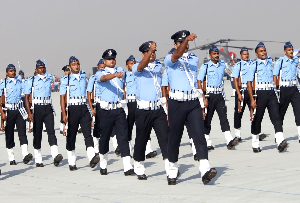 Full dress rehearsals for Air Force Day Parade 2020 underway at the Hindon Air Force Station in Uttar Pradesh's Ghaziabad on Oct 6, 2020.