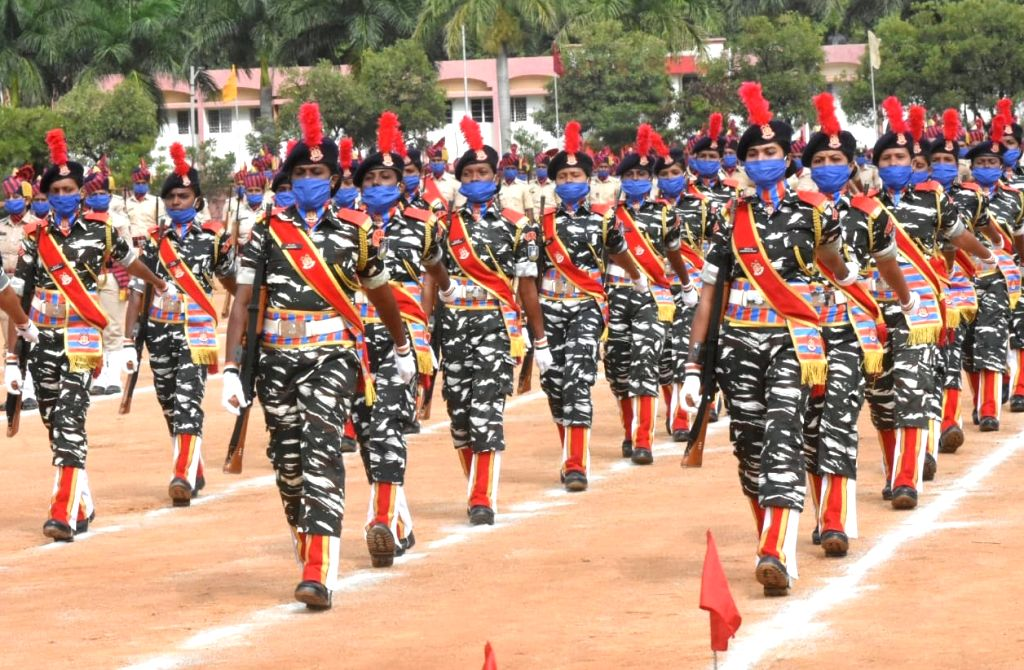 Full dress rehearsals underway ahead of the Independence Day Parade 2020, at Manekshaw Parade Grounds in Bengaluru on Aug 13, 2020.