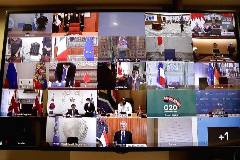 G20 Virtual Summit.